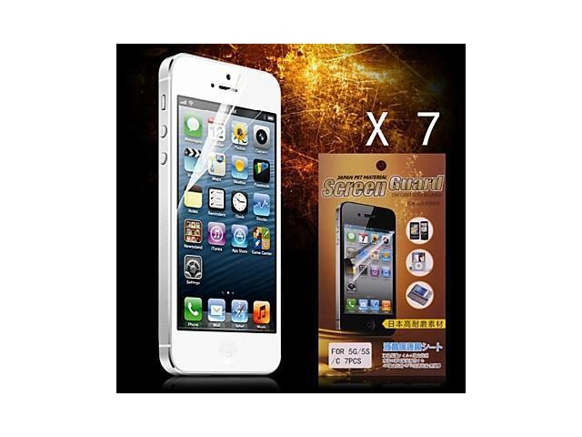 Protective HD Screen Protector for iPhone 5/5S(7PCS)