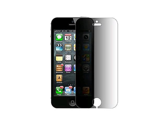 Anti-Spy Privacy Screen Protector with Cleaning Cloth for iPhone 5