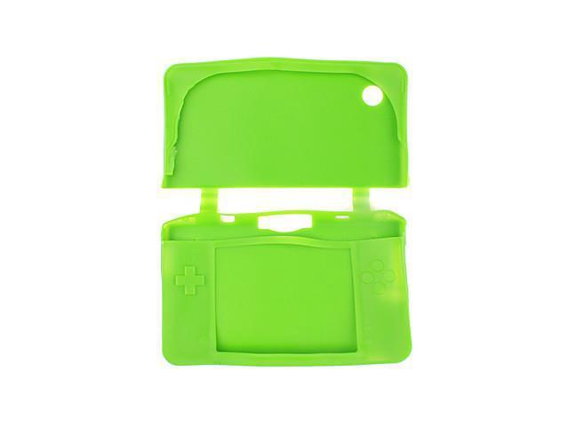 Protective Silicon Case for Nintendo DSi XL and DSi LL (Green)