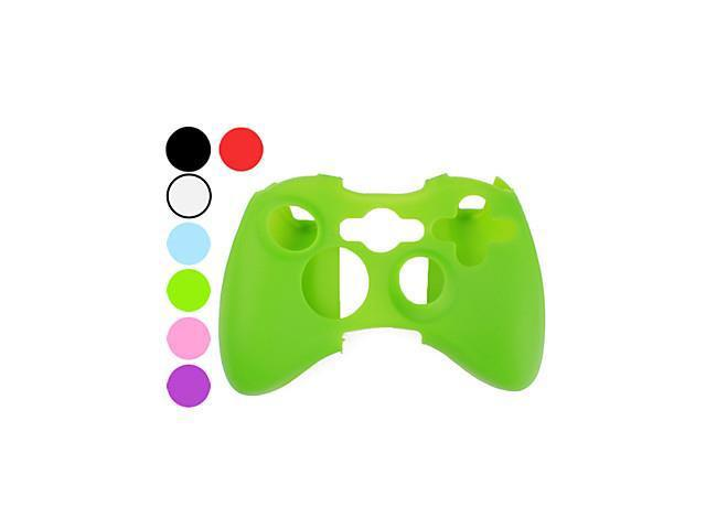 Protective Silicon Case for Xbox 360 Controller (Assorted Colors) , Green