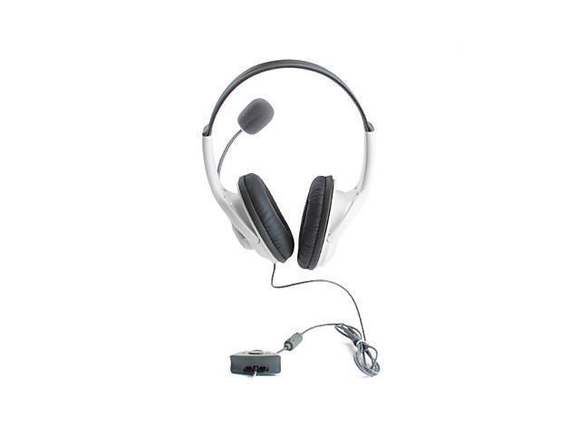 Premium Microphone Headset for Xbox 360 (White)