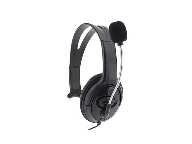 Headphone Microphone Headset for Xbox 360(Black)