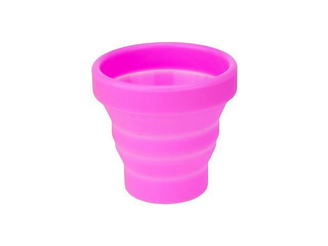 Foldable silicone measuring cup(Pink)