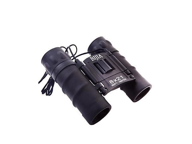 BIJIA 8X21 High Power Compact Portable Travel Night Vision Binoculars HD