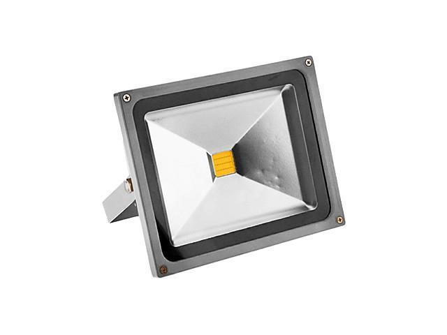 30W 2200-2400LM 3000-3500K Warm White Light LED Sensor Flood Light (100-240V)
