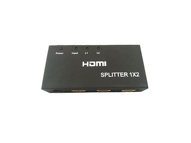 HDMI Splitter 1×2 One Input To Two Output 1080P
