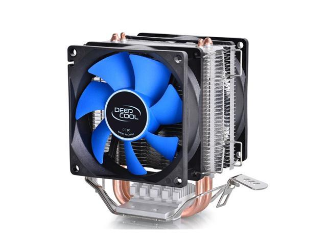 2 Heat Pipes Dual Fan CPU Cooler Heatsink for Intel LGA1156/LGA1155/LGA1150/LGA775 AMD FM2/FM1/AM3+/AM3/AM2+/AM2/940/939/754