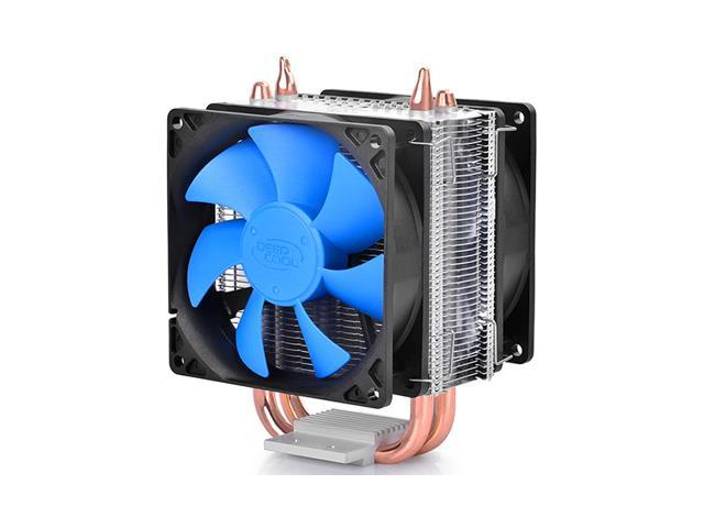 2 HeatPipes Dual 92mm Fan CPU Cooler Heatsink for Intel LGA2011/1150/1155/1156/1366/775 AMD FM2/FM1/AM3+/AM3/AM2+