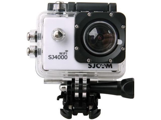 White SJCAM SJ4000 WiFi 1080P Full HD Outdoor Sports Digital Action Camera Sport DVR