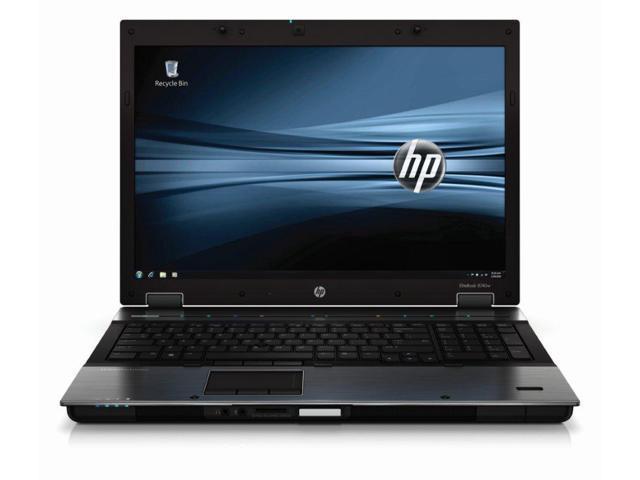 HP EliteBook 8740w (WH276UT) NoteBook Intel Quad Core i7-740QM 16GB Memory 500GB HDD NVIDIA Quadro FX 2800M 17.0