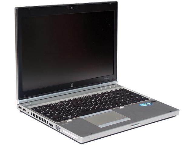 HP EliteBook 8560P Intel Core I7 2720QM 2.2GHz 250GB 8GB Ram DVD /-RW 15.6