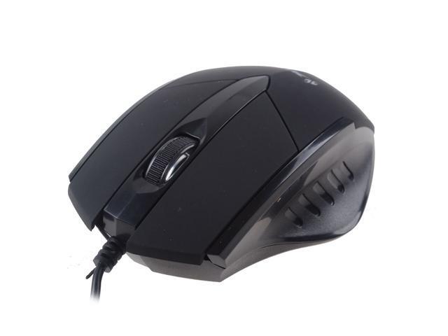 Black Business Wired USB Mouse 3 Bottons 1 X Wheel 800 DPI Optical For Desktop Laptop