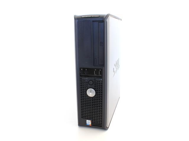 DELL OptiPlex GX745 Slim PC Pentium D, 4GB ram, 1000GB HDD, DVD Windows 7 Professional x64