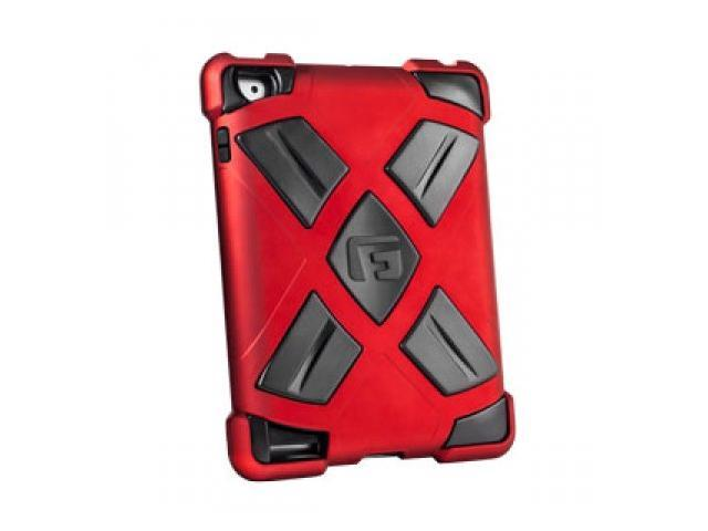 G-Form iPad 2/3/4 Xtreme Clip-On Folio Case Red/Black