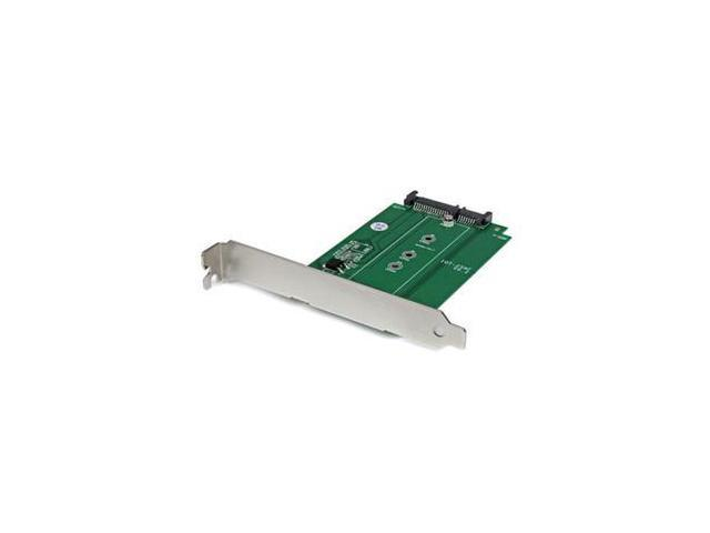 StarTech S32M2NGFFPEX M.2 to SATA SSD adapter – expansion slot mounted