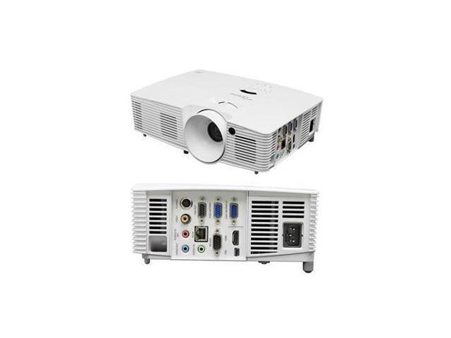 Optoma 796435 41 912 7 1024 x 768 3600 lumens DLP Projector20,000:1 RJ45