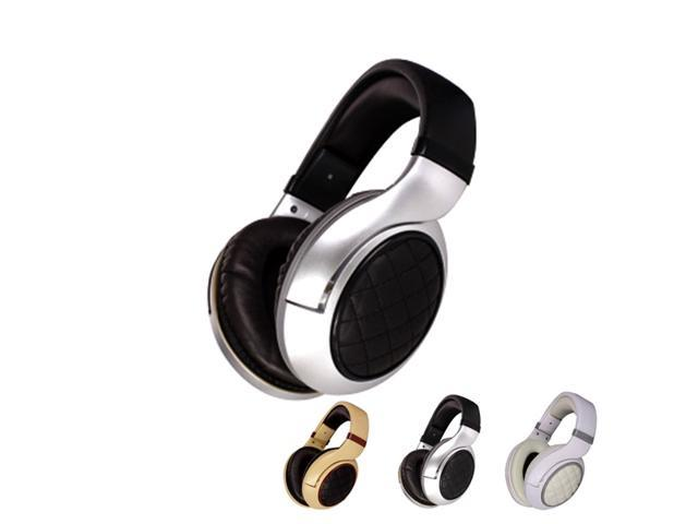 Topfprcity 3.5mm Connector Circumaural Multimedia Stereo Leather Gaming Headset(Black,Gray,Yellow)