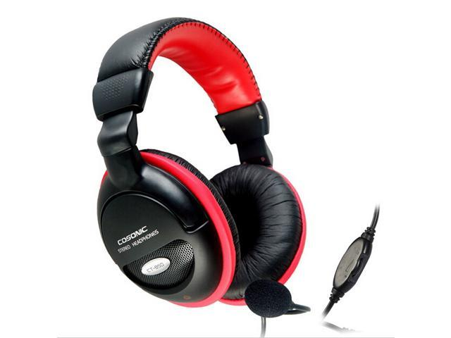 Cosonic CT-850 gaming headset with microphone audio headphone