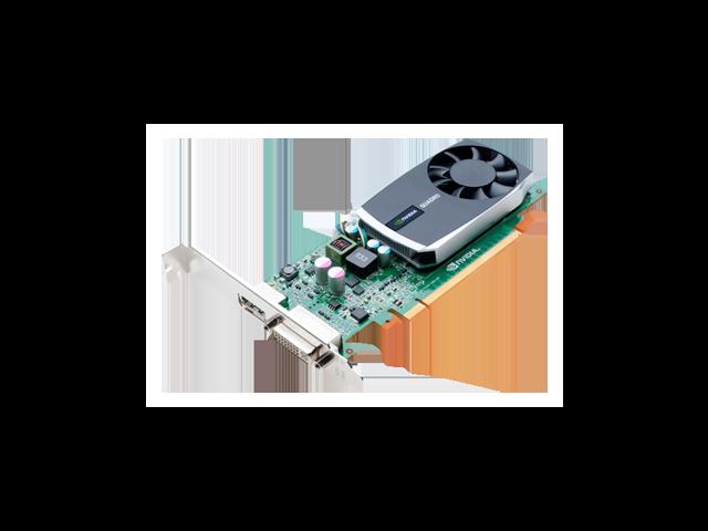 Nvidia Quadro 600 1GB 128-Bit DDR3 Work Station Video Card