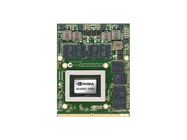 Nvidia Quadro 3000M Mobile Workstation Video Card P1044