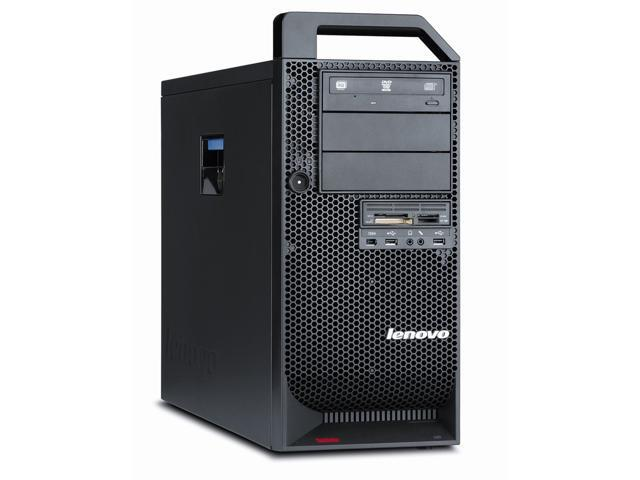 LENOVO THINKSTATION D20 X5650 2.66GHz CPU 12GB MEM 500GB HDD WINDOWS 7 PRO 64 BIT INSTALLED ATI RADEON HD2400 VIDEO CARD