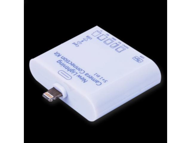 5 in 1 Card Reader Adapter For iPad4 iPad mini
