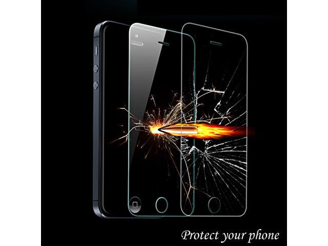 Premium 2.5D Tempered Glass Screen Protective Film 0.33mm for iPhone5 5C 5S