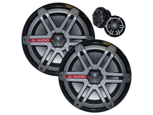 JL Audio M770-TCS-SG-TB (Titanium/Black with Sport Grilles) 7.7