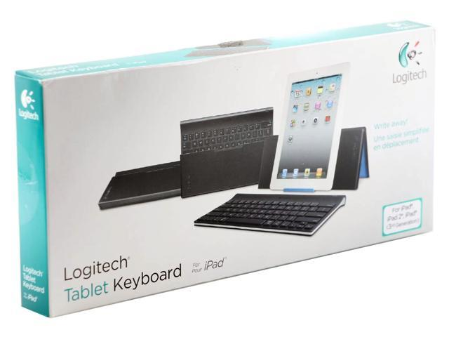 Logitech Keyboard for Apple iPad 2 iPad 3rd Generation Black