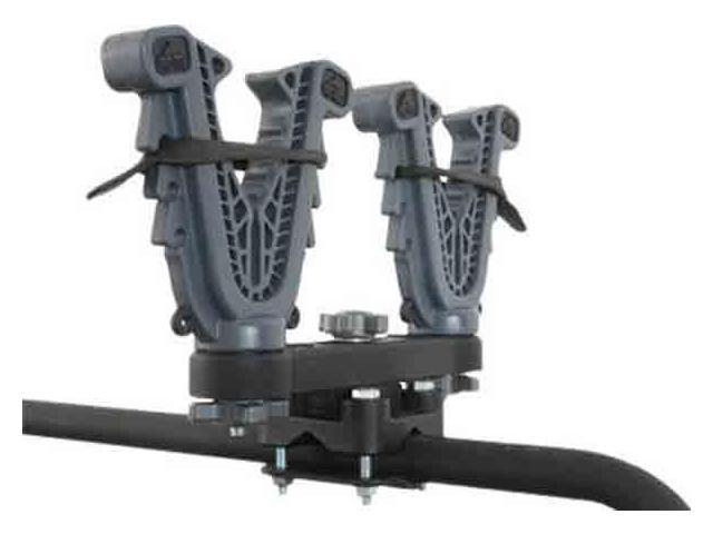 ATV-Tek V-Grip Gun Double Rack Mount VFG2