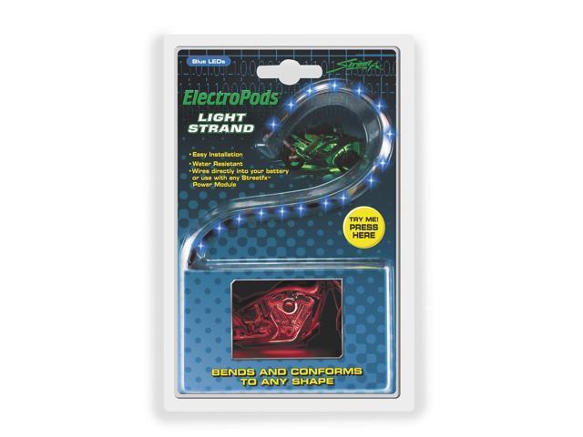 Street FX Electropods Strip Lights - Blue 1043051