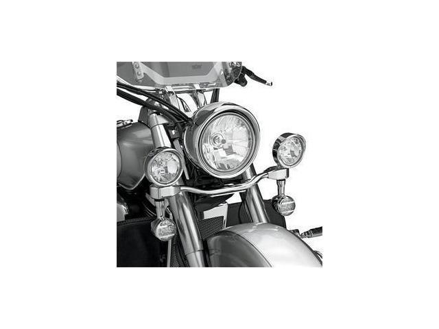 Show Chrome Elliptical Driving Light Kit - 3 1/2in. Diameter Street 82-232 82-232