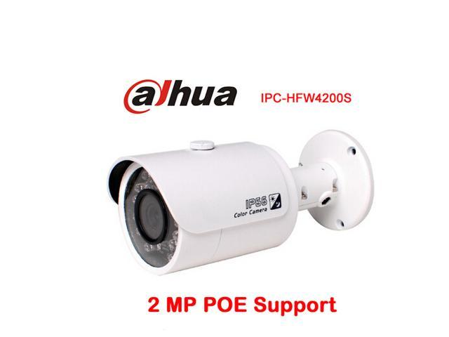Dahua IPC-HFW4300S HD 1080p IP Camera Security Outdoor 2MP Network IR Bullet Camera Support POE