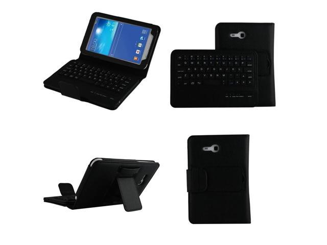 Viigoo(TM) For Samsung Galaxy Tab 3 Lite Case - Wireless Bluetooth Keyboard Cover for Galaxy Tab 3 Lite T110 / T111 7.0 Inch Android Tablet, ...