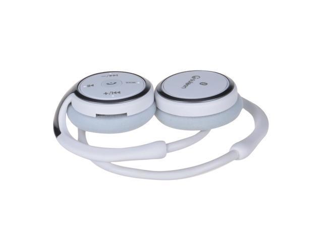 Viigoo Foldable Bluetooth Stereo Headset Headphone Earphone-White
