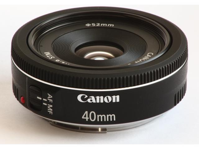 Canon EF 40mm f/2.8 STM Lense Black