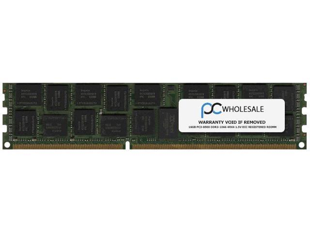 HP 16GB PC3-8500 DDR3-1066 4Rx4 1.5v ECC Registered RDIMM (HP PN# 500207-571)