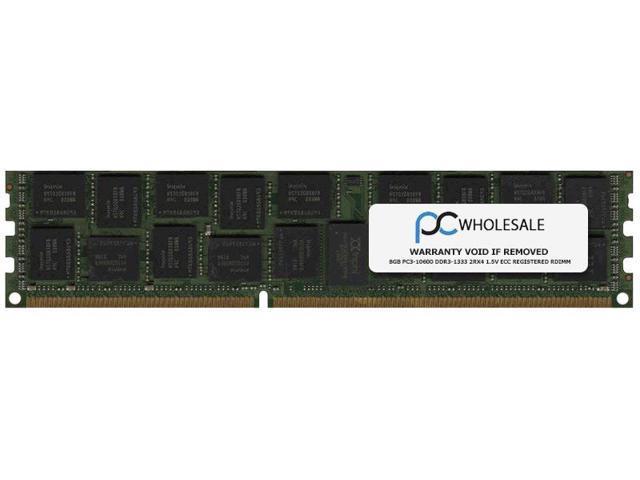 Dell 8GB PC3-10600 DDR3-1333 2Rx4 1.5v ECC Registered RDIMM for DELL (Dell PN# A4188260)