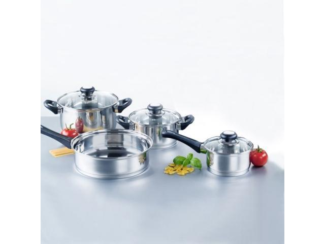 Home Collections 7-Piece Stainless Steel Cookware Set