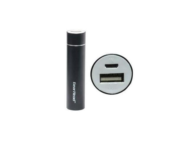 2200 mAh Power Bank Black