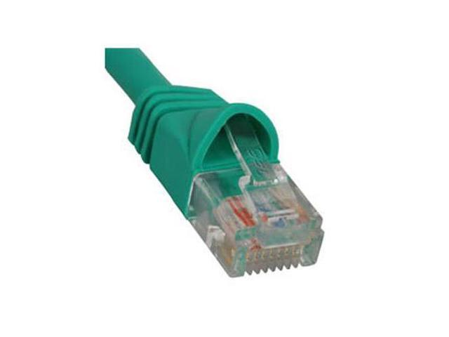 PATCH CORD, CAT 6, MOLDED BOOT, 7 BK