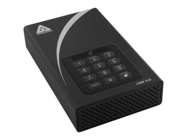 APRICORN MASS STORAGE ADT-3PL256-2000 2TB AEGIS PADLOCK DT SECURE USB
