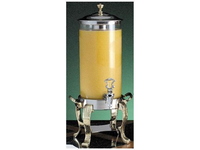 2 gal 12 dia. x 25 1/2 H inch Renaissance Juice Dispenser Silver 1 Ct