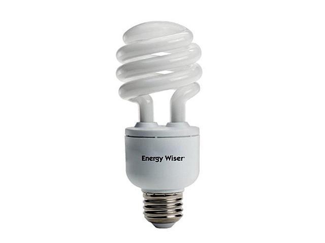 Bulbrite CF18C/WW/DM 18 Watt Energy Wiser Dimmable Compact Fluorescent T3 Coil Medium Base Warm White 2 Bulbs