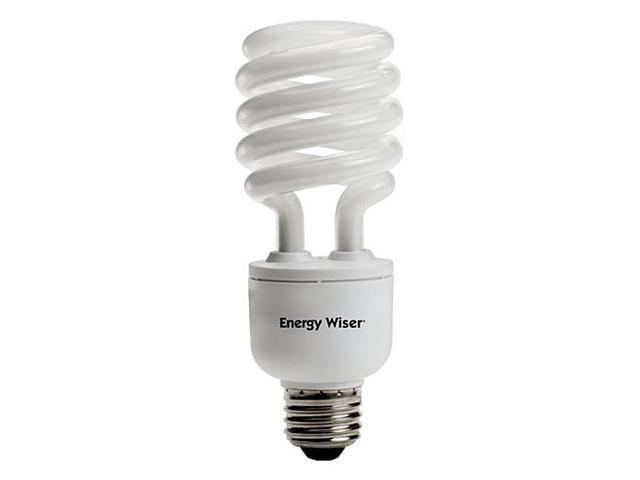 Bulbrite CF23C/WW/DM 23 Watt Energy Wiser Dimmable Compact Fluorescent T3 Coil Medium Base Warm White 2 Bulbs