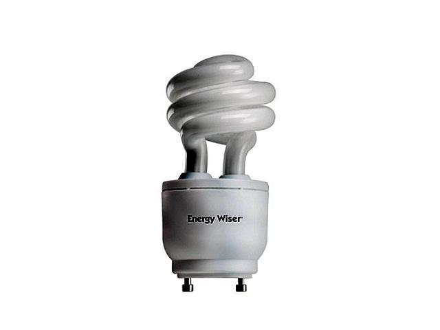 Bulbrite CF13WW/GU24/DM 13 Watt Energy Wiser Dimmable Compact Fluorescent T3 Coil GU24 Base Warm White 6 Bulbs