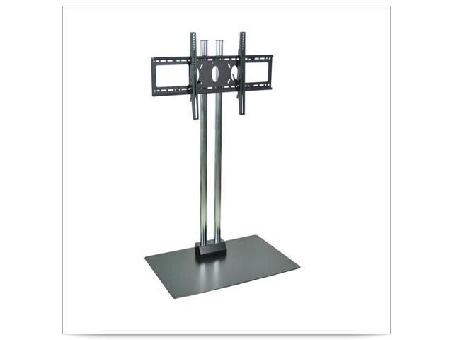 27 x 23 1/2 x 60H Stationary Flat Panel TV Stand and Mount