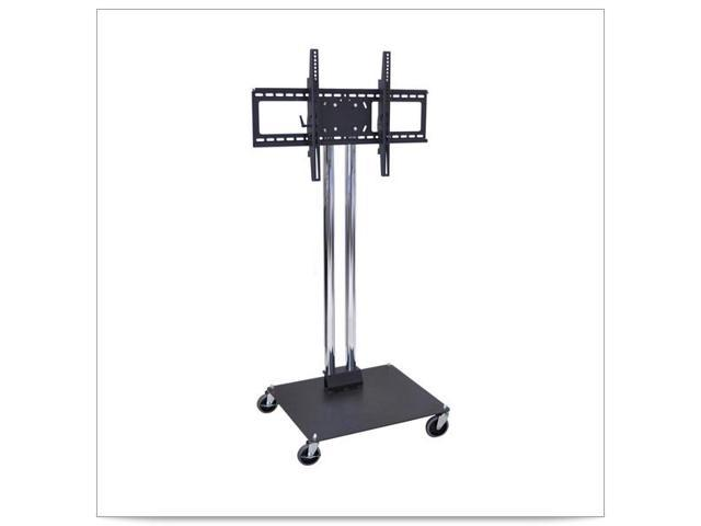 27 x 23 1/2 x 50H Stationary Flat Panel TV Stand and Mount
