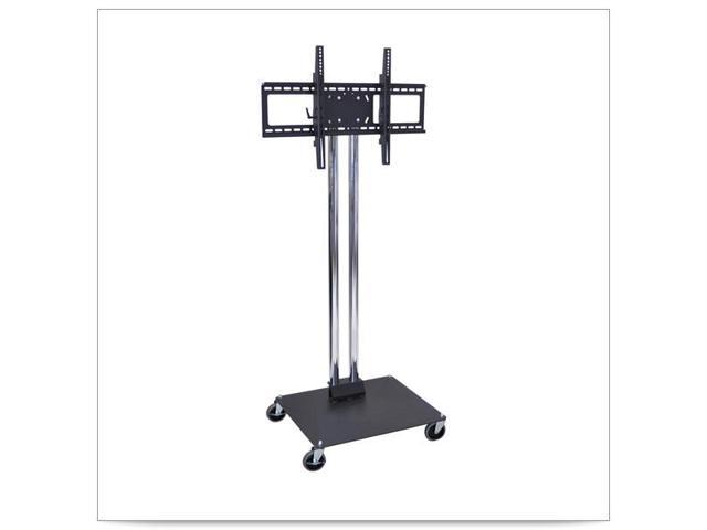 27 x 23 1/2 x 65H Stationary Flat Panel TV Stand and Mount