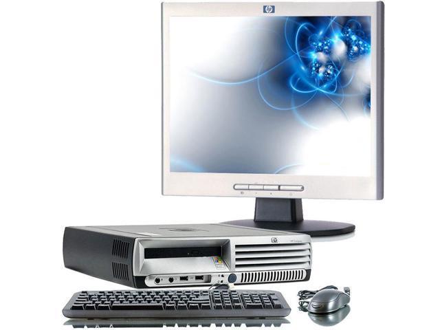 HP Compaq DC7700 Intel Core 2 Duo 1800 MHz 80Gig HDD 2048mb DVD/CDRW Windows 7 Home Premium 32 Bit + 19